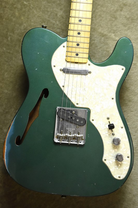 Fender Custom Shop MBS 1969 Telecaster Thinline J.Relic Aged Ocean Turquoise by Jason Smith【担当一押しの1本!!】【フェンダー】【マスタービルド】【ジャーニーマンレリック】【シンライン】【ジェイソン・スミス】