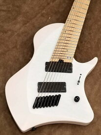 ABASI GUITARS LARADA J8 5AQM【 White Satin / Maple】8弦日本製モデル!