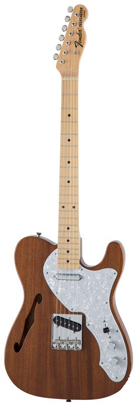 Fender フェンダー MADE IN JAPAN TRADITIONAL 69 TELECASTER® THINLINE Maple Fingerboard, Natural 【国産・日本製】【テレキャスター】【シンライン】【送料無料】