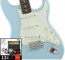 Fender フェンダー Made in Japan Traditional '60s Stratocaster , Rosewood, Daphne Blue 【豪華13点セット!!】 【…