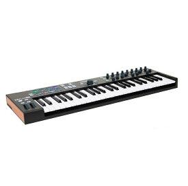 Arturia ARTURIA KeyLab Essential 49 Black Edition [MIDIコントローラー]【2018年4月28日発売】【アートリア】【キーラボ・エッセンシャル】【ブラック・エディション】【49鍵】