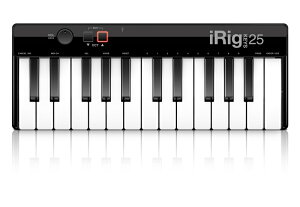 IK Multimedia iRig Keys 25 【アイリグ】【モバイルMIDIコントローラー】【ミニサイズ25鍵盤】【送料無料】
