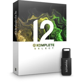 Native Instruments KOMPLETE 12 SELECT 【DAWソフト】【送料無料】