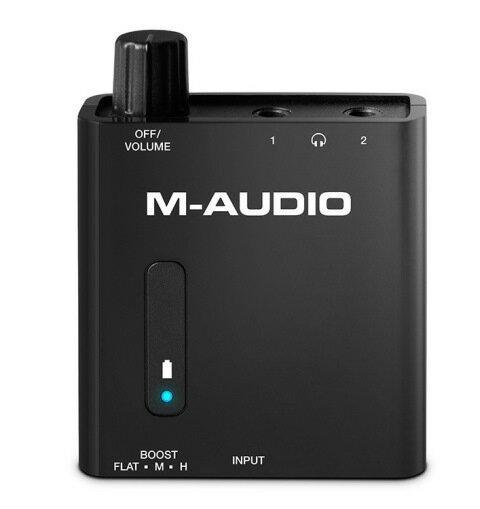 M-AudioBass Traveler【7月23日発売予定】【ベース・トラベラー】【ポータブル・ヘッドホンアンプ】【ポタアン】【送料無料】