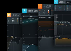 【RX 7 ELEMENTS付】iZotopeTonal Balance Bundle crossgrade from any iZotope product (including Exponential Audio) 【クロスグレード版】【メール納品】【送料無料】