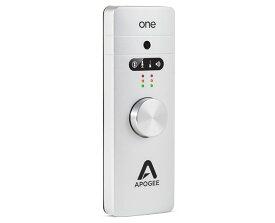 【数量限定特価】Apogee アポジーOne for Mac【オーディオインターフェイス】【送料無料】