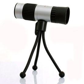 超小型ズーム単眼鏡 15-55倍 15-55x21自由倍 三脚付 50倍を超えた脅威の55倍