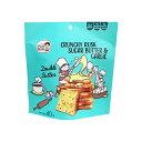 輸入元公式 PUNBUN BAKERY クランチーラスクシュガーバター&ガーリック 40g 焼菓子