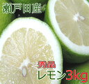 国産 レモン 秀品 3kg 広島 瀬戸田レモン 秀品レモン グリーンレモン ノーワックス 防腐剤不使用 有機栽培 減農薬 果…