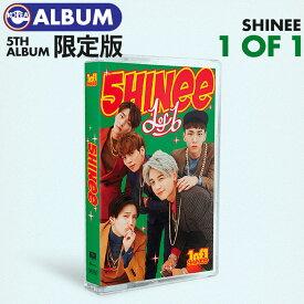 【 限定盤 カセットテープ / ポスターなしで格安 】【 SHINee 正規5集 アルバム 1OF1 】【即日発送】 シャイニー