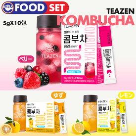 ★日本正式代理店★【 3種セット / TEAZEN コンブチャ 5g x 10st 】【即日発送】おいしい! 美容茶 ダイエット茶 健康茶 Beauty Tea Diet Tea Healthy Tea