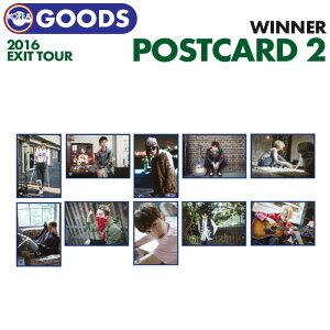 【 TYPE 2:WINNER POSTCARD SET / ポストカードセット 】【 WINNER EXIT TOUR IN SEOUL 公式グッズ 】【即日発送】 ウィナー うぃの YG