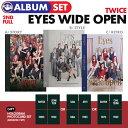 ★withDRAMA公式特典フォトカード付★【 3種セット / ポスターなしで格安 】【 TWICE 正規2集アルバム Eyes Wide Open…