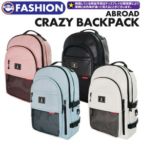 5d9f9536f7dc 【取寄商品】【 ABROAD CRAZY BACKPACK 】 ABROAD 公式商品 正規品 韓国