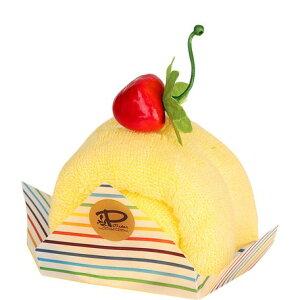即納 今治 ケーキタオル ロールケーキ 人気 ハンカチ 日本製 雑貨 お返し プチギフト 手土産 母の日 父の日 実用的 上質 単品 かわいい おしゃれ お返し お礼 プレゼント マンダリン イエロー