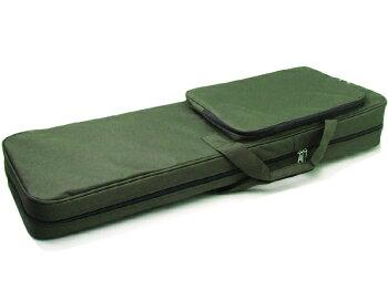 三線ソフトケース緑
