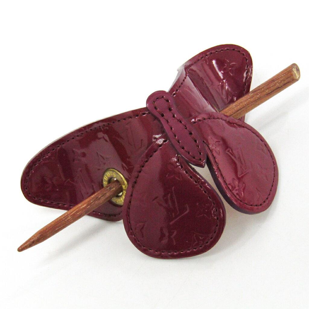 ルイ・ヴィトン(Louis Vuitton) ヴェルニ,ウッド レディース ヘアーアクセサリー バレッタパピヨン M92266 【中古】