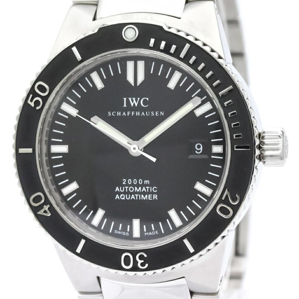 IWC アクアタイマー GST 2000 ステンレススチール 自動巻き メンズ 時計 IW353602 (外装仕上げ済み) 【中古】