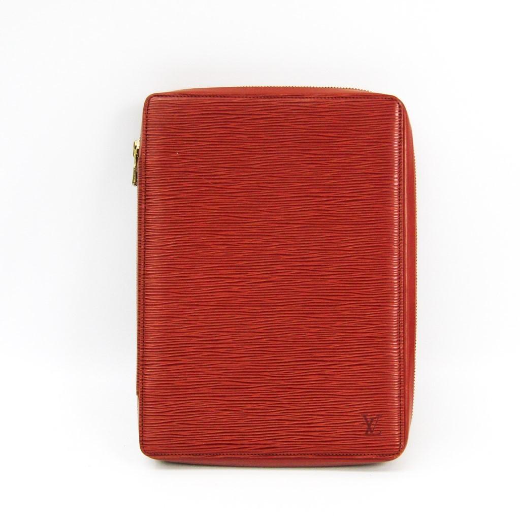 ルイ・ヴィトン(Louis Vuitton) エピ 手帳 ケニアンブラウン アジェンダ・ヴォヤージュ R20033 【中古】