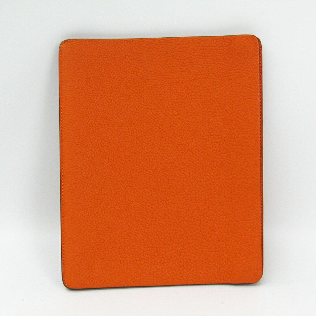 エルメス(Hermes) ケース iPad 2 対応 オレンジ ステーション 【中古】