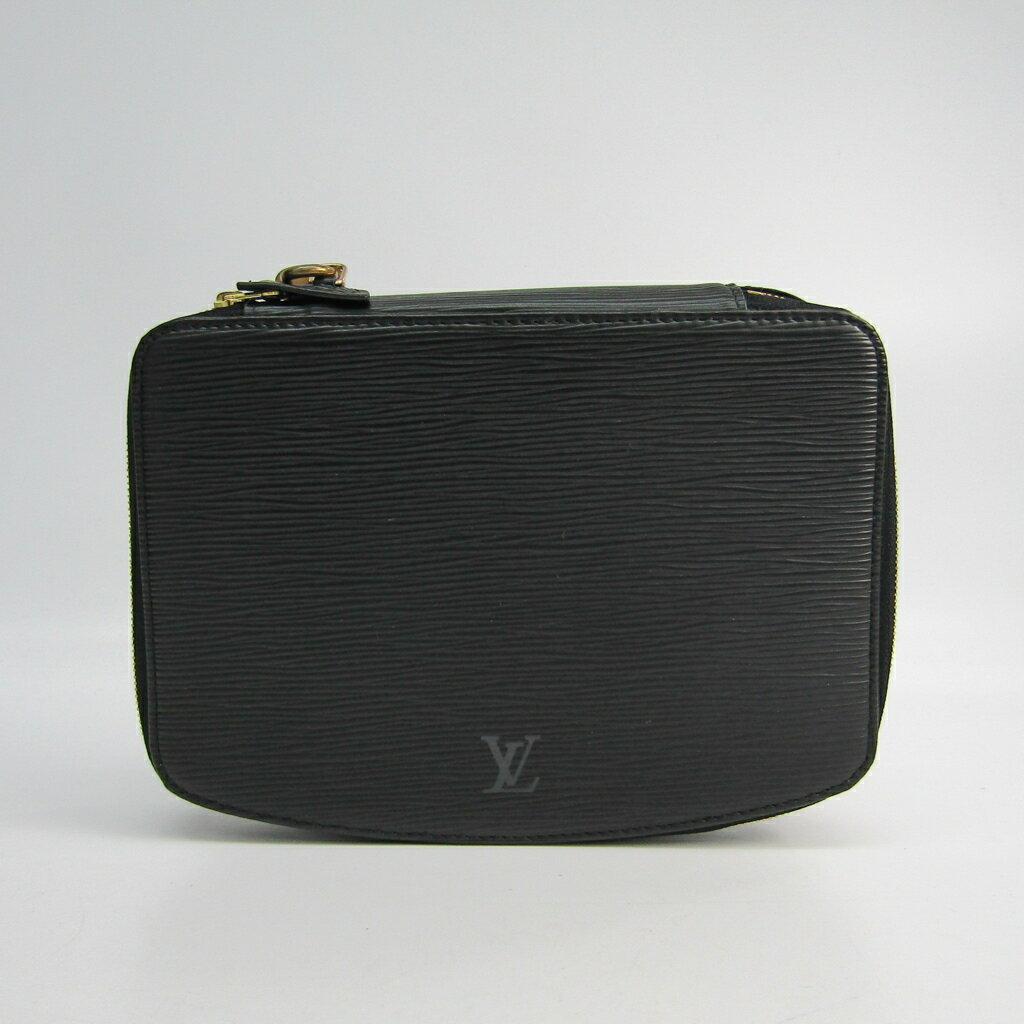 ルイ・ヴィトン(Louis Vuitton) エピ ポッシュ・モンテカルロ M48362 ジュエリーケース ノワール エピレザー 【中古】