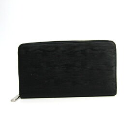8b7ab1213827 中古 ルイ・ヴィトン(Louis Vuitton) エピ ジッピー・オーガナイザー NM M62643 メンズ エピレザー 長財布(二つ折り) ノワール  【中古】