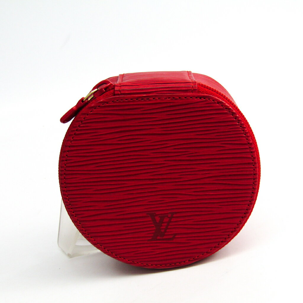 ルイ・ヴィトン(Louis Vuitton) エピ エクランビジュー10 M48217 ジュエリーケース カスティリアンレッド エピレザー 【中古】
