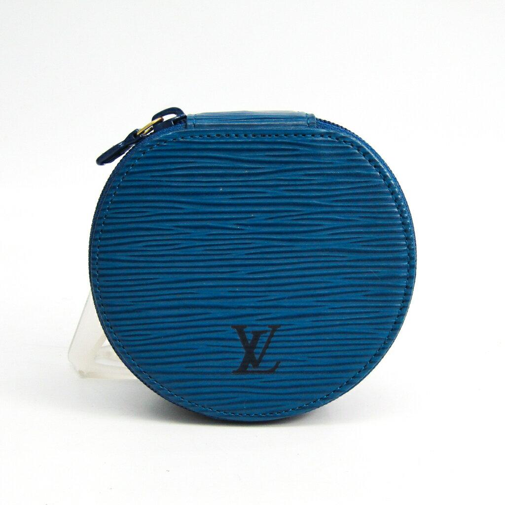 ルイ・ヴィトン(Louis Vuitton) エピ エクランビジュー10 M48215 ジュエリーケース トレドブルー エピレザー 【中古】