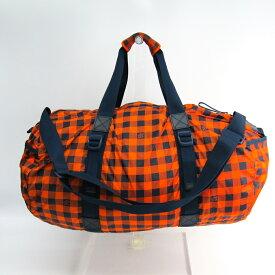 ルイ・ヴィトン (Louis Vuitton) ダミエ・アバンチュール N41232 メンズ ダミエキャンバス ボストンバッグ オレンジ 【中古】