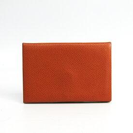 エルメス(Hermes) カルヴィ エプソン カードケース キャメル 【中古】