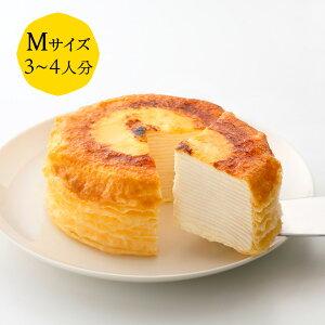 ミルクレープ はじまり 12cm(※お酒不使用) casaneo(カサネオ)冷凍ケーキ ギフト 食べ物 プレゼント 誕生日 スイーツ 手土産 プレゼント ケーキ 誕生日ケーキ お取り寄せ グルメ お菓子 お祝