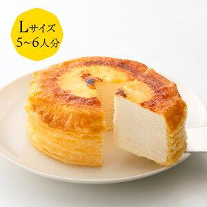 ミルクレープ 15cm(※お酒不使用) casaneo(カサネオ)冷凍ケーキ ギフト 食べ物 プレゼント 誕生日 スイーツ 手土産 プレゼント ケーキ 誕生日ケーキ 大人 お取り寄せ グルメ お菓子 お祝い