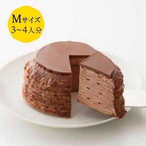 【ポイント5倍】ミルクレープ ダブルショコラ 12cm casaneo(カサネオ)冷凍ケーキ ギフト 食べ物 プレゼント 誕生日 スイーツ 手土産 プレゼント ケーキ 誕生日ケーキ 大人 お取り寄せ グルメ