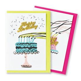 【メール便OK】ペトラボーズ(PETRA BOASE)刺繍 グリーティングカード【MATOKA / マトカ】