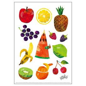 エリック・カール(ERIC CARLE)B4サイズ・ポスター『Caterpillar With Fruits / はらぺこあおむし』