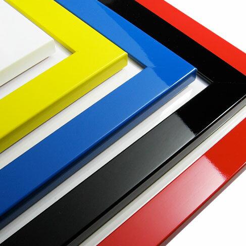 FLAT PANEL【515×728mm:B2サイズ】木製額縁/光沢フラットフレーム/全6色17サイズの光沢ポスターフレームです♪★受注生産品:発送までに約7-10営業日 / 特注サイズのご対応も可 /