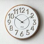 カービングウォールクロックC039|壁掛け時計