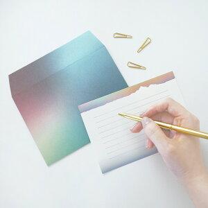 NORDLYS ノールリス レターセット |メール便対応 定形内 手紙 封筒 便箋
