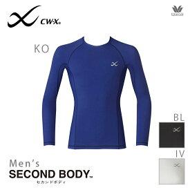 15%OFF ワコール CWX CW-X セカンドボディ メンズ ラウンドネック ロングスリーブシャツ CHO020 男性用