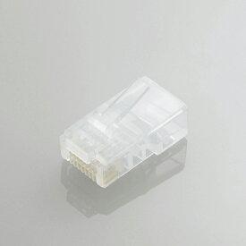 エレコム 自作用 ツメの折れないLANコネクタ(Cat5e)/ヨリ線仕様/100個入り LD-RJ45TY100/T