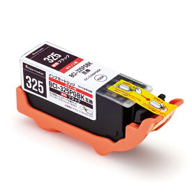 カラークリエーション インク プリンタ キヤノン BCI-325PGBK 互換 汎用 インクカートリッジ ブラック 325 PIXUS ピクサス MG8230 MG8130 MG6230 MG6130 MG5330 MG5230 MG5130 MX883 iP4930 iP4830 iX6530 MX893 顔料 CC-C325BLK