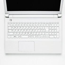 エレコム TOSHIBA dynabook Tシリーズ対応 キーボード キーボードカバー 防塵カバー PKB-DBTX12