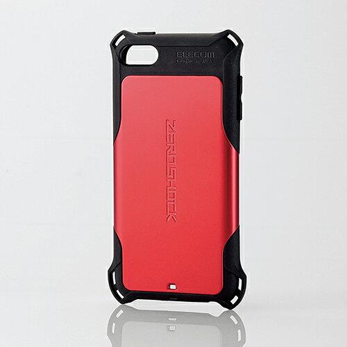 エレコム iPod touch (第6世代) ケース 衝撃吸収ケース ZEROSHOCK レッド AVA-T17ZERORD