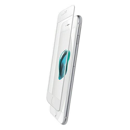 エレコム iPhone7 液晶保護フルカバーガラスフィルム 0.33mm PMCA16MFLGGR03W