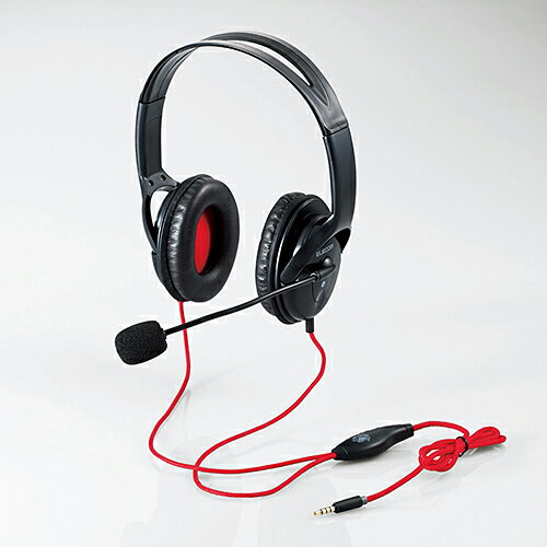 エレコム ステレオヘッドセット PlayStation4専用 モンスターハンター ワールドコラボ HS-MHW02BK