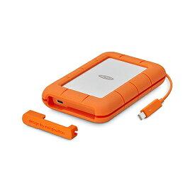 ラシー LaCie 耐衝撃HDD ハードディスク Rugged USB-C対応 USB3.1Gen2対応 オレンジ 2TB 2FDAP5