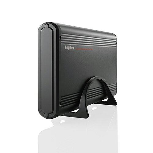 ロジテック 外付けHDDケース 3.5インチ USB3.1 Gen1対応 アルミボディ ブラック LGB-EKU3 【店頭受取対応商品】