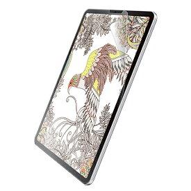 エレコム iPad Pro 11インチ 2018年モデル フィルム ペーパーライク 反射防止 ケント紙タイプ アイパッド タブレット 保護フイルム TB-A18MFLAPLL