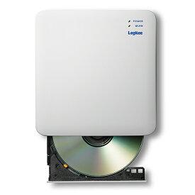 エレコム CD録音ドライブ スマホで音楽CDの再生 録音ができる WiFi 対応 2.4GHz iOS Android アイフォン アンドロイド 対応 USB3.0 ホワイト LDR-PS24GWU3RWH