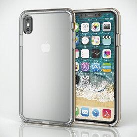 エレコム iPhone XS Max用ハイブリッドケース リング付 極み PMCA18DHVCRBK